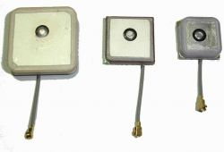 Patch active antenna 25x25, 18x18, 15x15